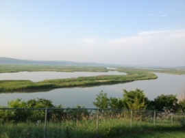 Scenic Overlook on 5K Route - Lewis and Clark Lake/Missouri River