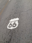 Original roadbed of Route 66