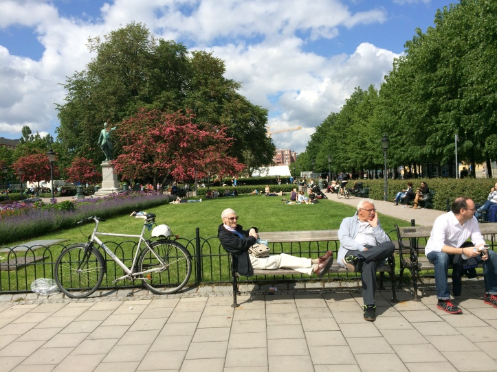 A Stockholm Sunday in the Park