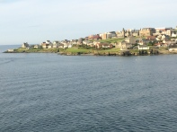 Entering Lerwick, Shetland Islands