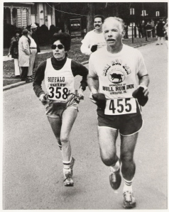 Freddi in 1981 - Run for the Diamonds with Andy Anderson