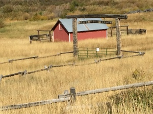 As we hiked Aspen Alley, we spotted this ranch hidden from the road
